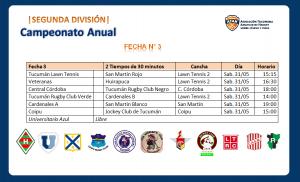 Segunda División | Fecha N° 3