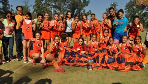 Sub-14 B: Naranjitas campeonas
