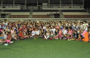 Hockey Social: más de 150 jugadores participaron de la clínica