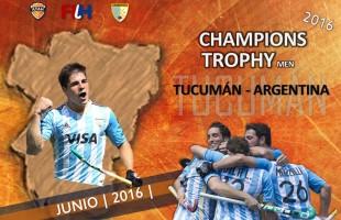 Tucumán: sede el Champions Trophy Masculino 2016