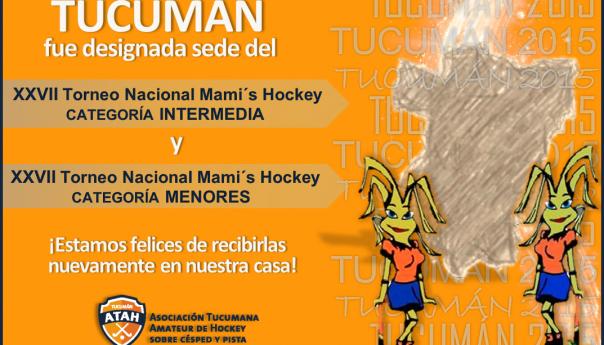Tucumán recibirá a las Mamis Menores e Intermedia