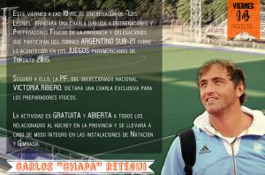 """El """"Chapa"""" Retegui estará presente en el Torneo Argentino Sub-21"""