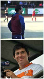 Rafael Darnay (arriba) Cristian Leyes (abajo)